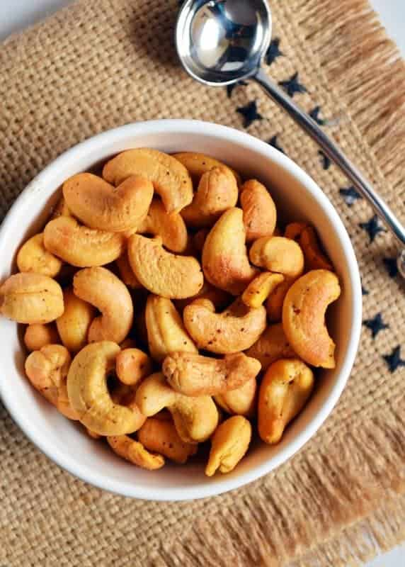 roasted cashew nuts in oven recipe