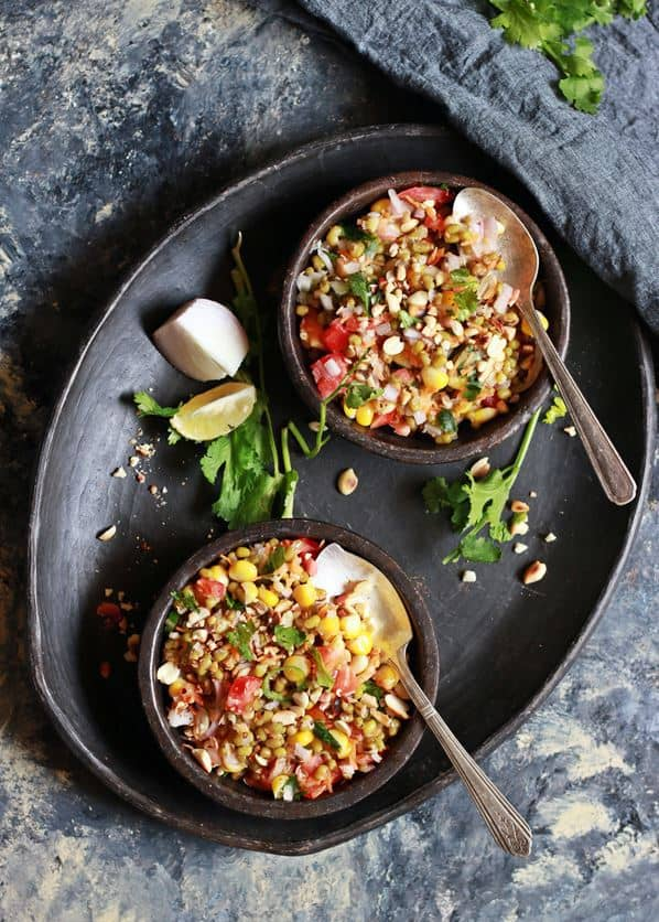 healthy mung bean salad recipe