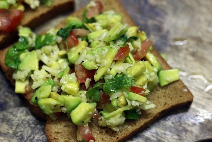 avocado toast recipe step 4