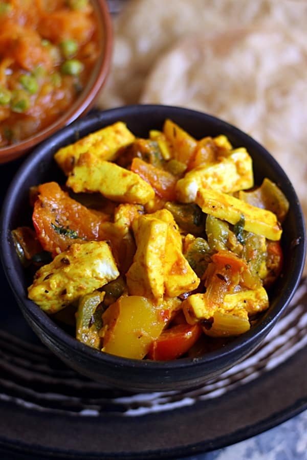 how to make pepper paneer recipe