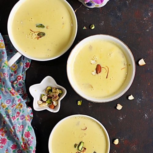 Pumpkin kheer recipe