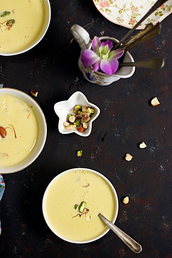 easy pumpkin kheer recipe