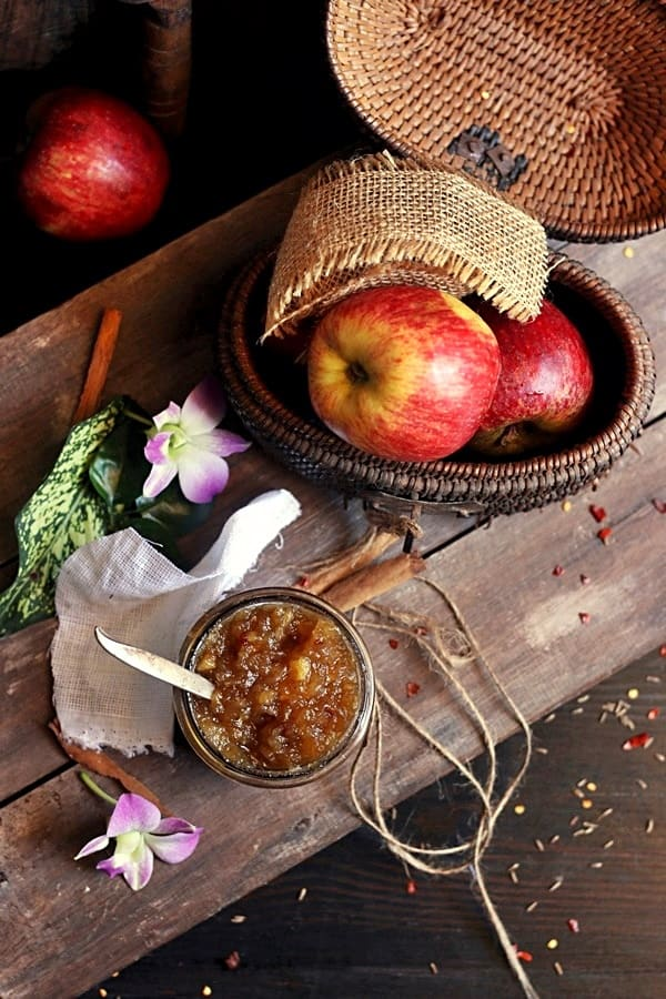 how to make apple jam recipe