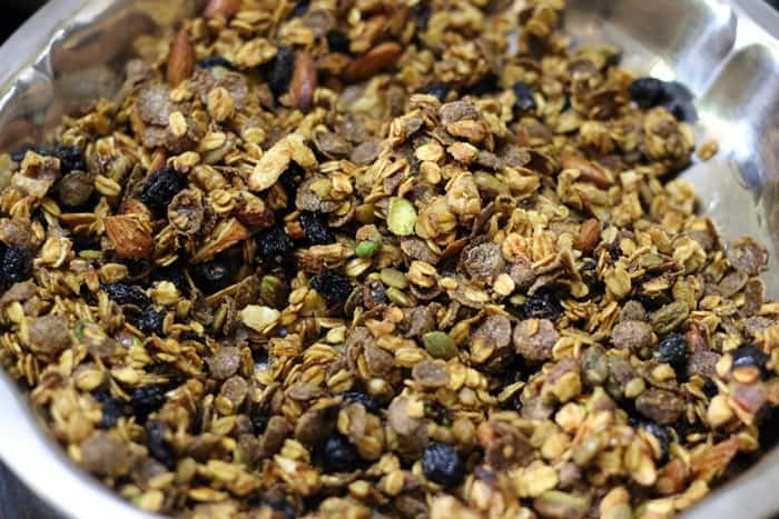 easy granola recipe step 6