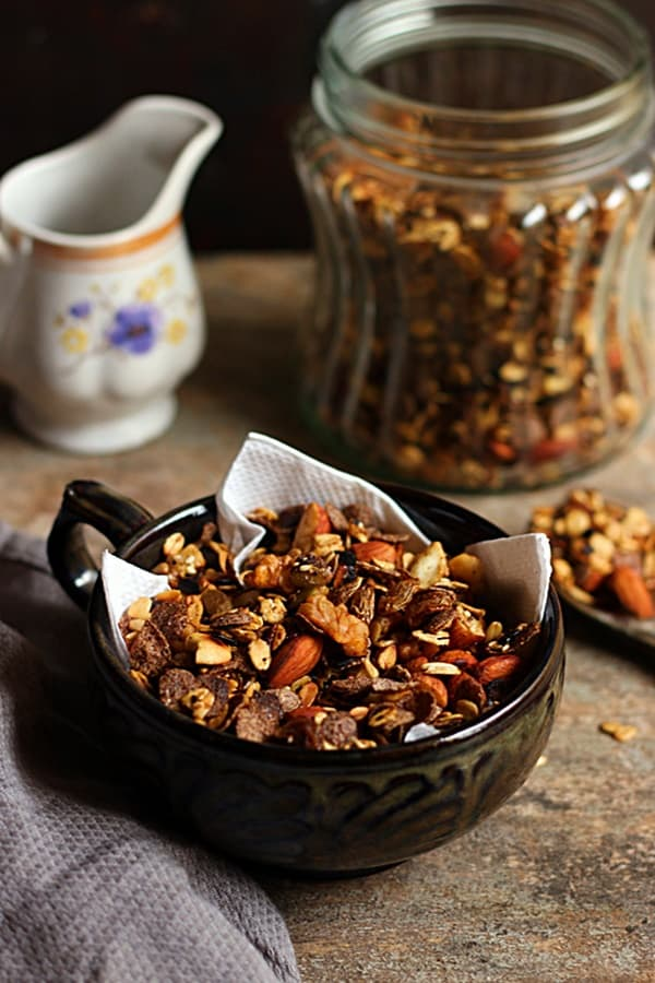spicy trail mix recipe