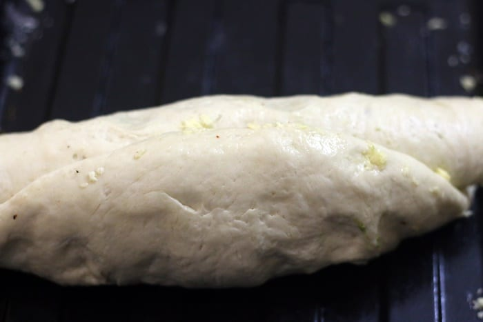 Making braided bread recipe