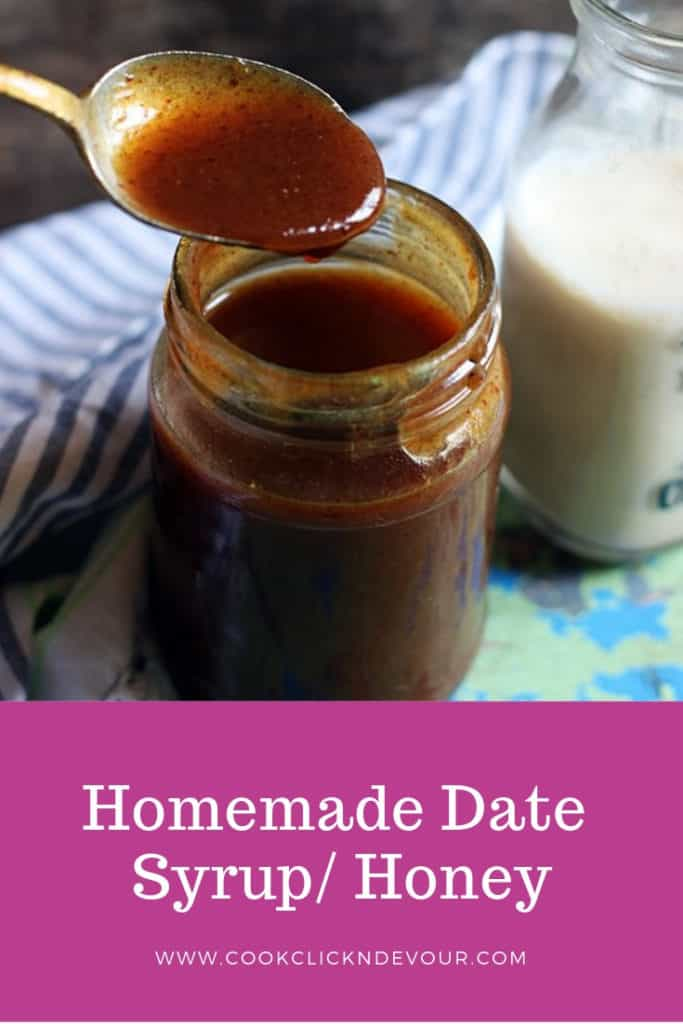 date syrup recipe