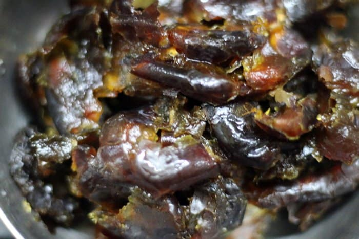 pitted dates for date syrup recipe