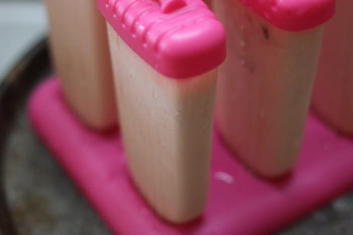 Ready to freese watermelon popsicle puree