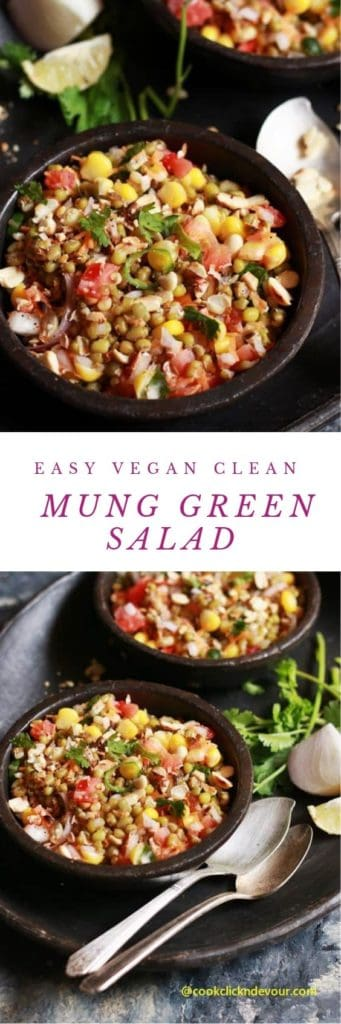 Mung bean salad recipe