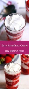 Strawberry cream recipe