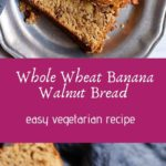 Easy walnut banana bread