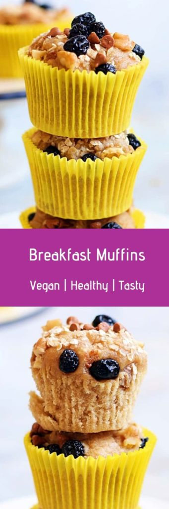 Vegan banana muffin recipe