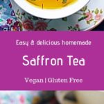 Saffron tea with mint leaves is a soothing and warm drink for upcoming winters. Instead of grabbing a pack of this tea from stores, make best herbal saffron tea at home with this easy recipe. Just some water, fresh saffron strands and mint leaves are all what you need. Absolutely best drink for relaxing and unwinding. Here is how to make saffron tea from scratch with fresh ingredients.