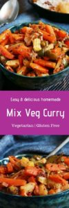 mix veg recipe
