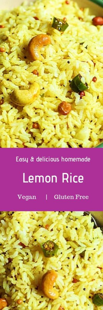 Lemon rice recipe