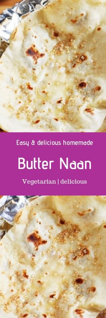 Indian butter naan recipe