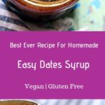 homemade date syrup