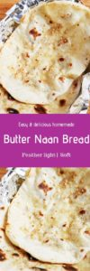 Indian butter naan
