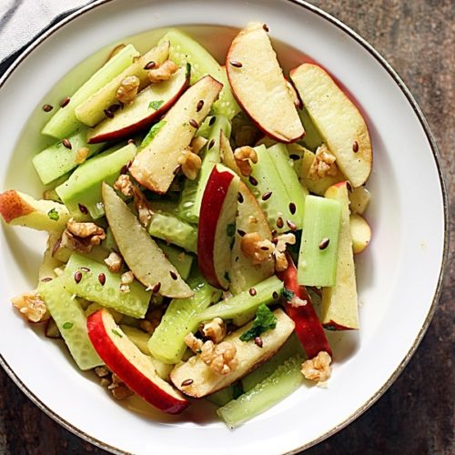 apple cucumber salad recipe