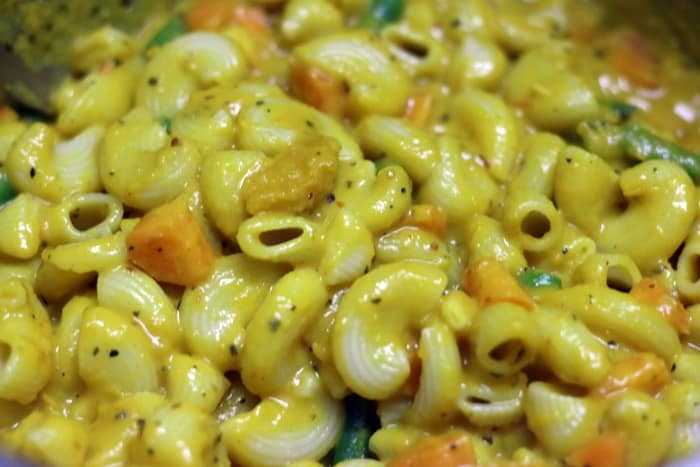 pasta in pumpkin sauce recipe