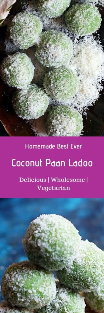 Paan ladoo recipe