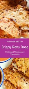 Rava dosa recipe with video-