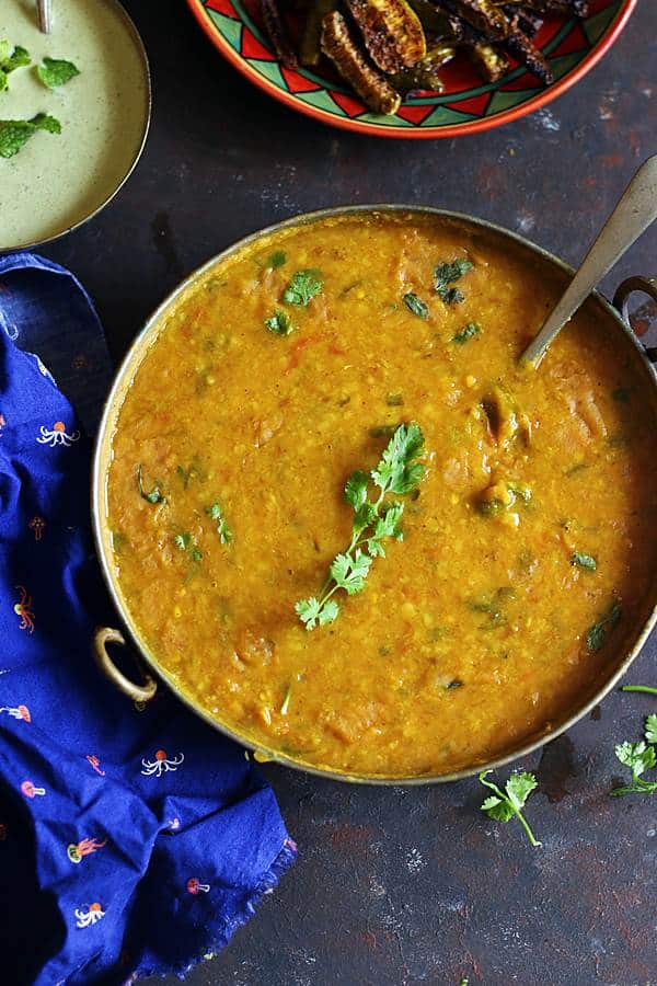 Instant pot dal ready to serve