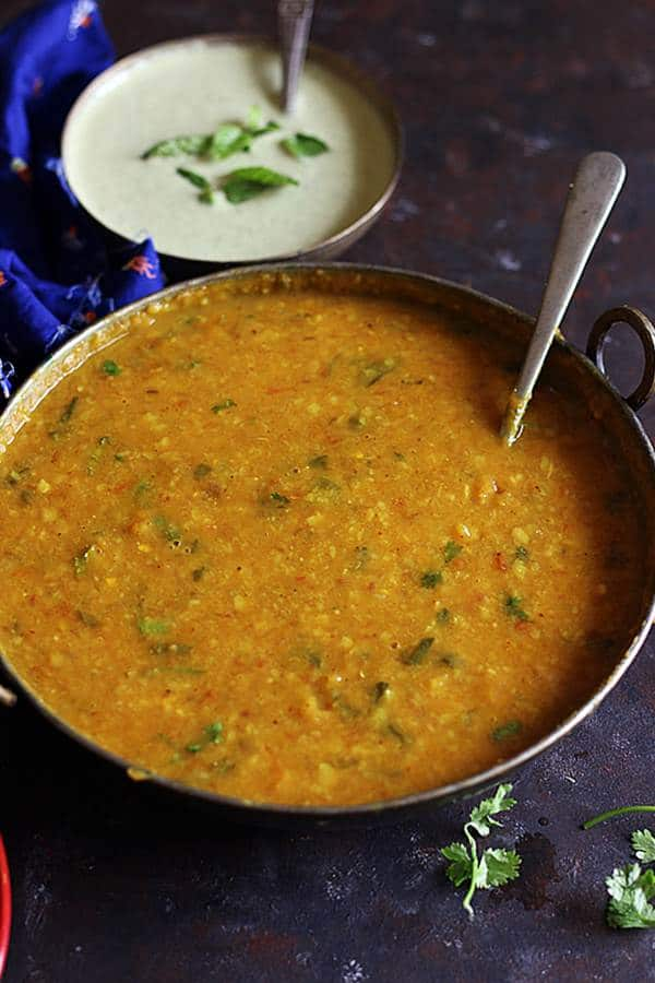 easy dal recipe in instant pot