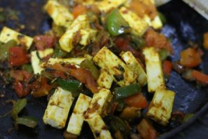 paneer khurchan ready to serve